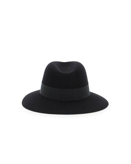 Maison Michel Henrietta Felt Fedora Hat