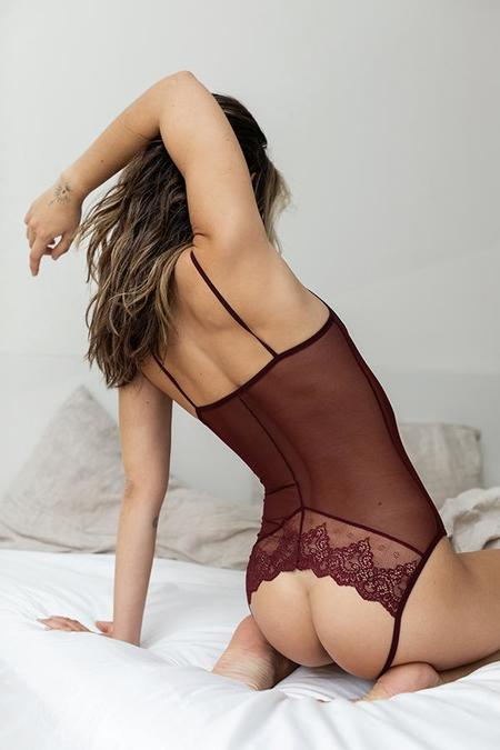 Only Hearts Whisper Sweet Nothings Coucou Bodysuit - Fuchsia
