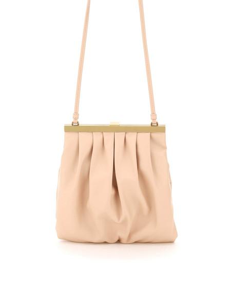 Mansur Gavriel Wave Frame Shoulder Bag - pink