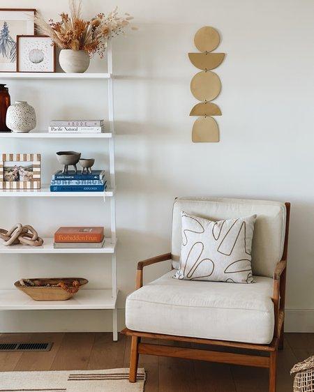 """Jenna Leigh Ceramics 26"""" Ceramic Wall Hanging - natural"""