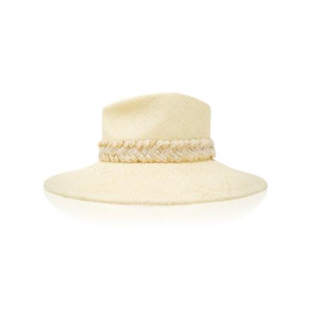 Gigi Burris Gigi Burris Merle Handwoven Braid Hat - Natural