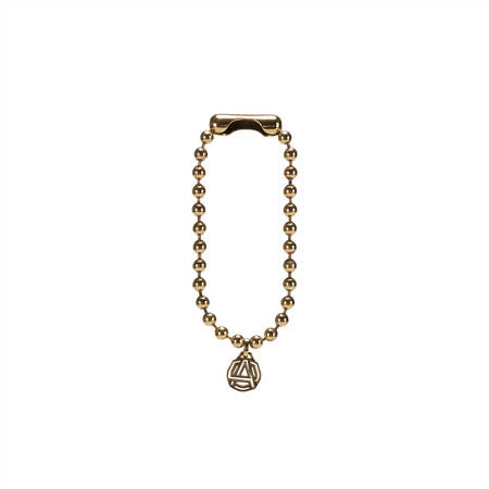 AMBUSH Emblem charm bracelet - 18K Gold plating/silver