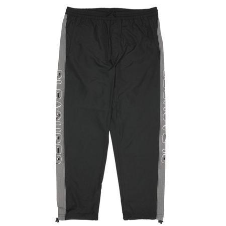 PLEASURES Decline Nylon Track Pant - Black