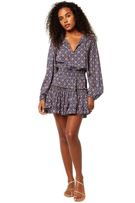 Misa Los Angeles Misa Lorena Dress - Tile print