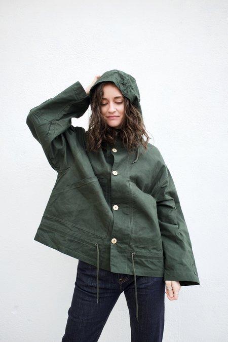 Girls of Dust Nuclear Rain Jacket - Green