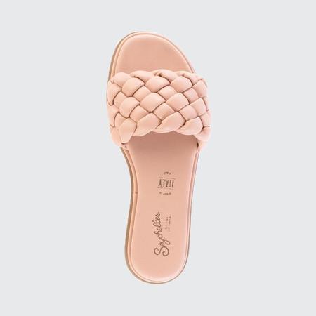 Seychelles Leather Slide - Nude