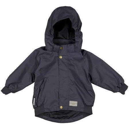 kids marmar copenhagen olio baby jacket - dark blue