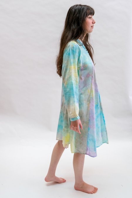 Natalie Martin Fiore Short Dress - Rainbow Cloud
