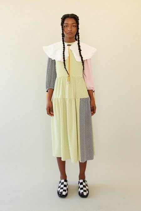 KkCo Hus Dress - Mixed Checker