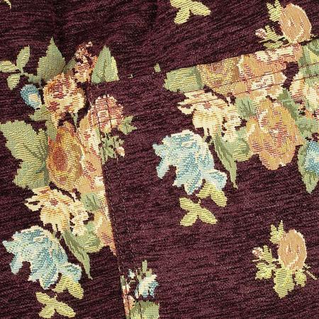 PLEASURES Dejavu Woven Floral Shorts - Maroon