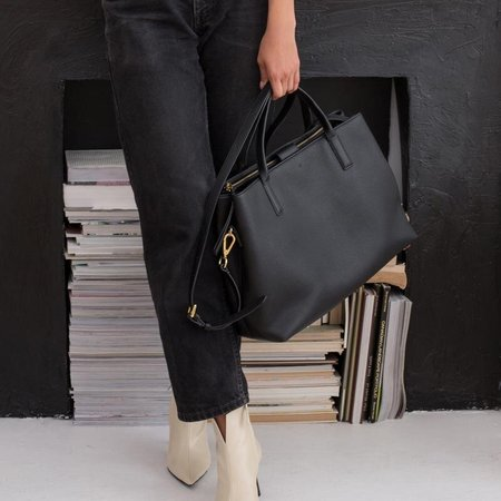 Ela Handbags Vegan Leather Workbag