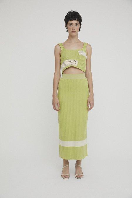 Rita Row Elvia Skirt - Green Patch
