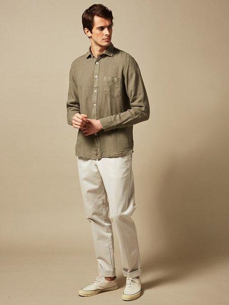 Hartford Paul Linen Shirt - Camo