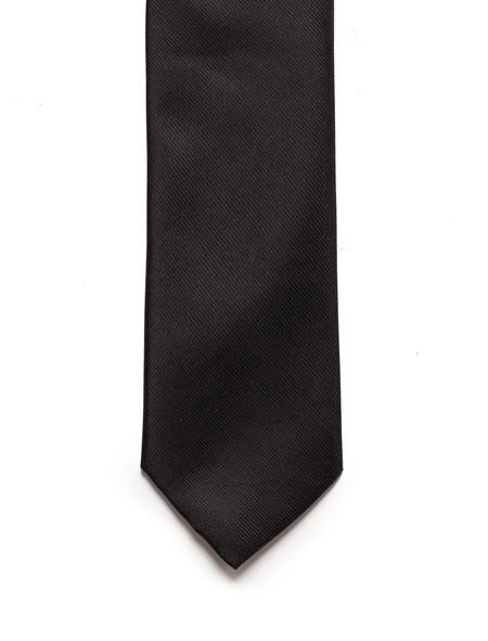 Neighbour Silk Tie Black