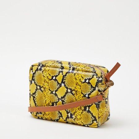 Clare V. Midi Sac - Yellow Mini Snake