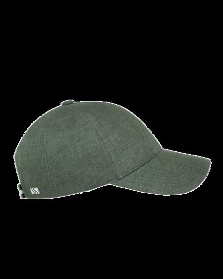 Varsity Headwear Linen Cap - French Olive