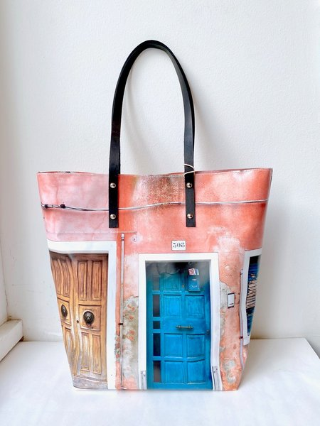 Jessica Murray Designs Burano Doors Tote - Multi
