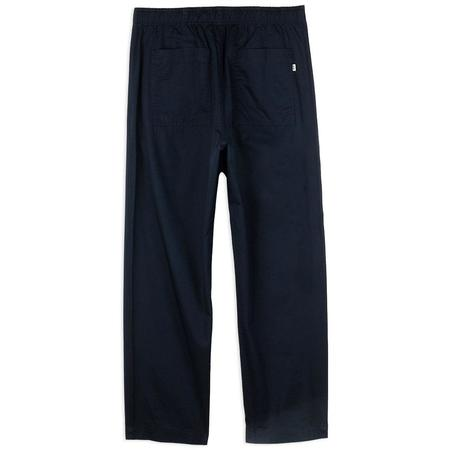 Wood Wood Stanley Twill Trousers - Navy