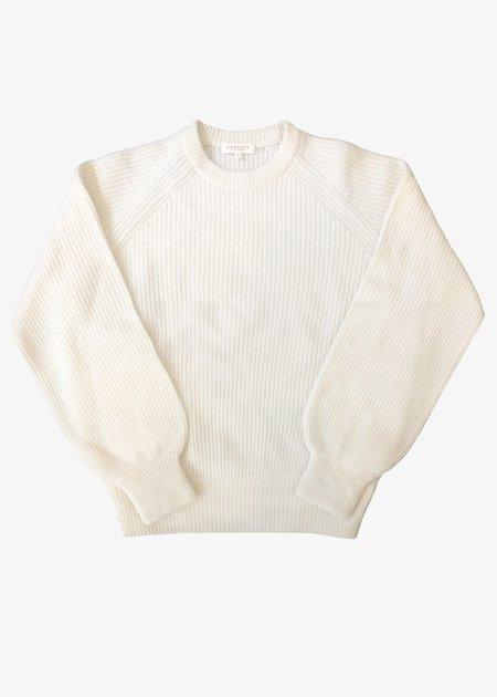 Demy Lee Sabrinna Sweater -  white