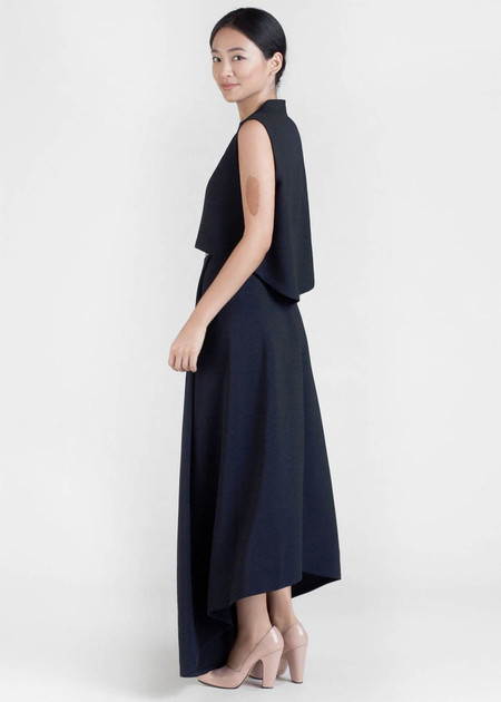 Kaarem Waterfall Maxi Skirt