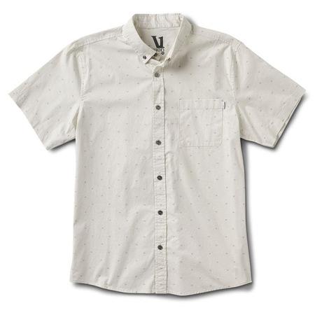 Vuori Crest Short Sleeve button down - Down Salt/Arrow