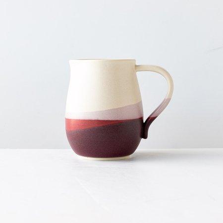 Érica Trottier Pays d'O stoneware Pitcher - multi