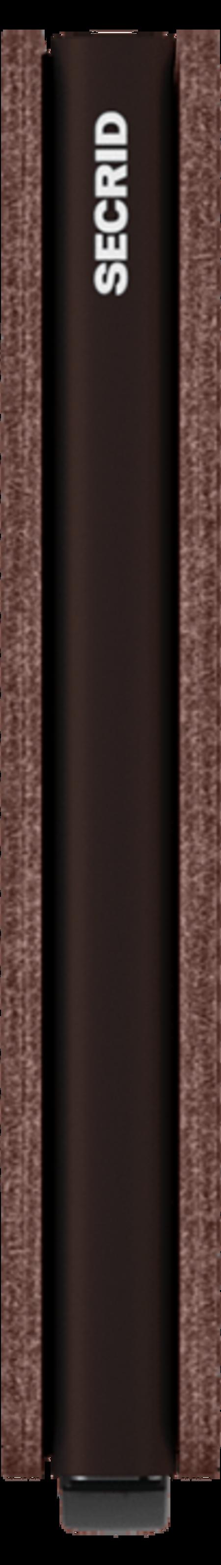 Secrid Slim wallet - Veg Espresso/Brown