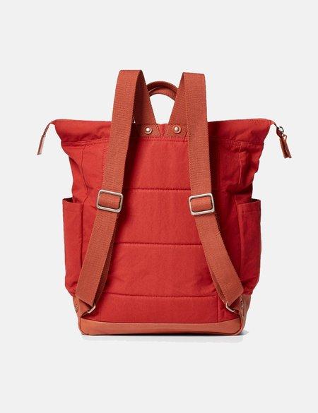 Ally Capellino Fin Hybrid Waxy Rucksack bag - Red
