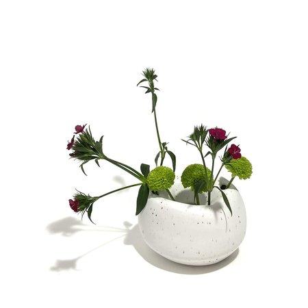 Allison Skinner Flower Orb Vase