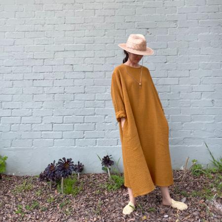 APRIL MEETS OCTOBER October Dress - Mustard