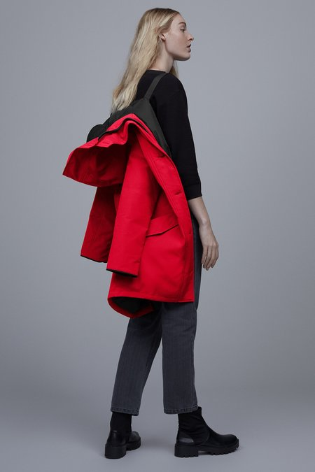 Canada Goose Rossclair Parka - Red