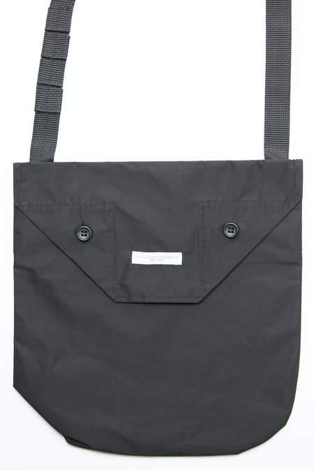 Engineered Garments Shoulder Pouch bag - Black Memory Polyester