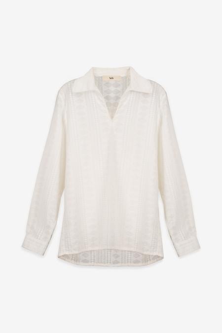 Séfr Mate Shirt - Living White