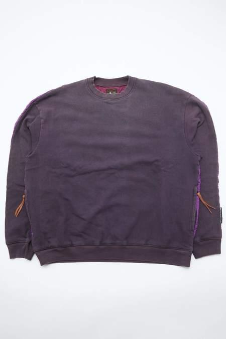 Kapital Fleece Knit BIVOUAC BIG SWT - Purple