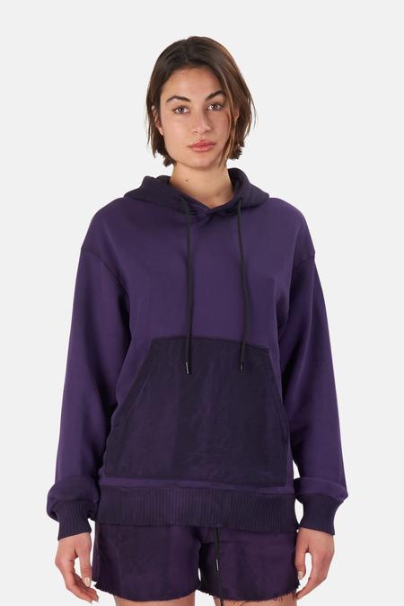 Cotton Citizen Brooklyn Oversized Hoodie Sweater - Plum Mix