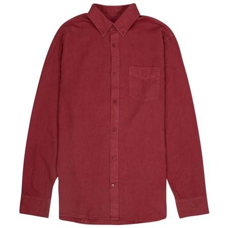 NN07 Levon Shirt - Burned Red