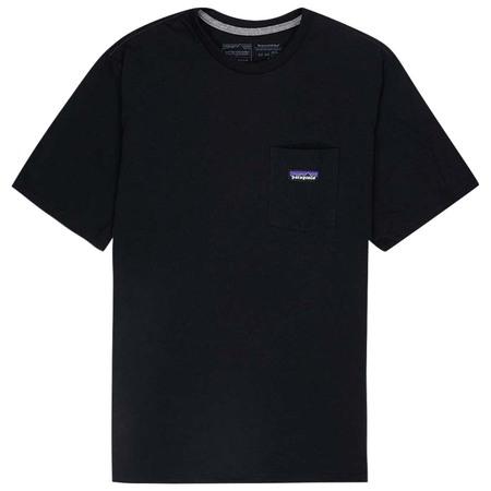 Patagonia P-6 label Pocket Responsibili-tee - Black
