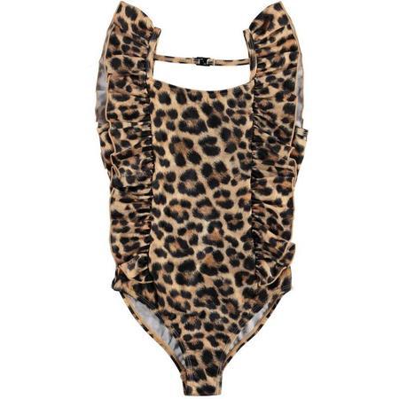 kids molo nathalie swimsuit - jaguar