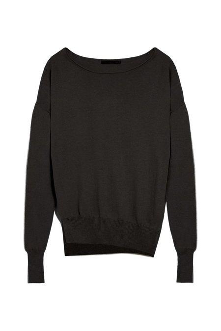 KES x Lars Andersson Asymmetric Pullover Sweater - Black