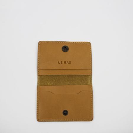 Le Bas Bifold Card Holder - Tan
