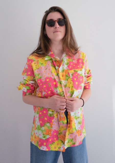 Unisex The Series Floral Chore Shirt
