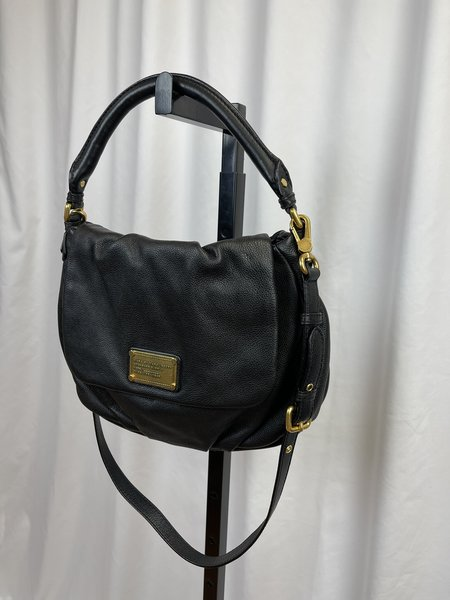 MARC BY MARC JACOBS 'Classic Q Little Ukita' Shoulder Bag - Black