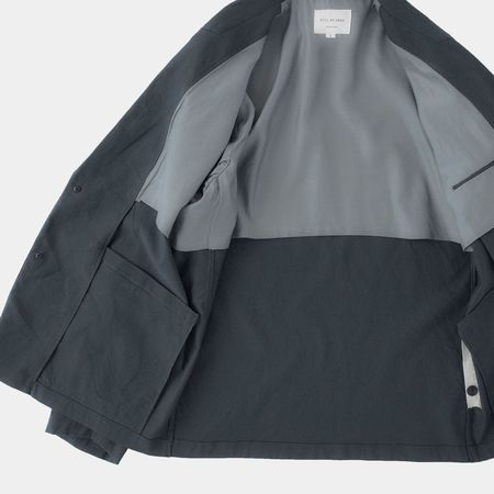 Still By Hand Relaxed 2B Jacket - Dark Teal