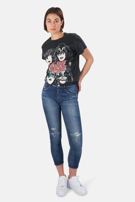 MadeWorn Rock Kiss T-Shirt - Coal Pigment