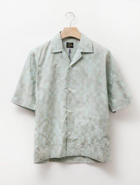 Needles Cabana Shirt - Circle Embroidery Mint