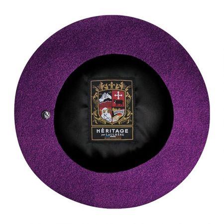 Laulhère Authentic beret - Purple