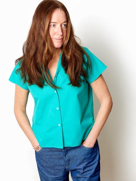 Aspesi Mini Poplin shirt - Emerald