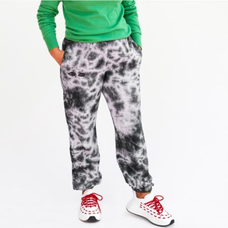 Clare V. Sweatpants - Black/White Tie-Dye