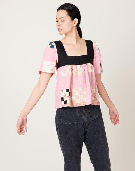 Carleen Square Neck Shirt - Dazzle
