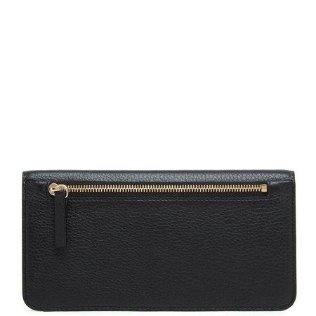 OAD Slim Wallet Clutch - True Black